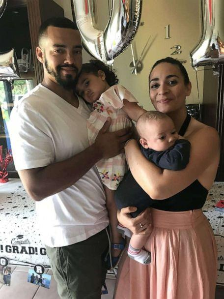 PHOTO: Alexandra Seba of Altamonte Springs, Florida, is seen in an undated photo with her husband, Raymond Collet and children, Julian Sol, 1 and Jade, 3. (Alexandra Seba)