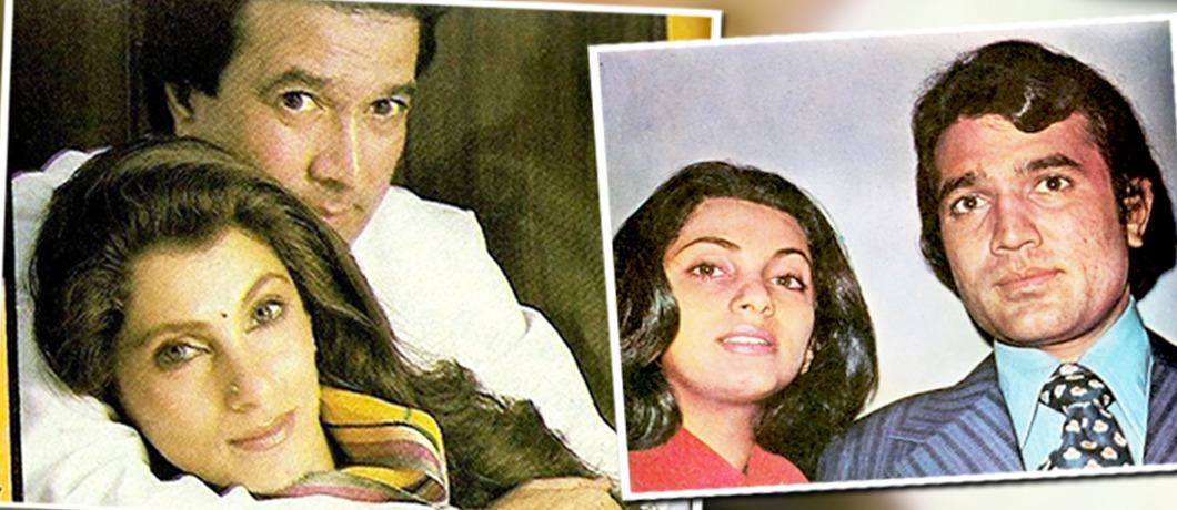 Rajesh Khanna and Dimple Kapadia met after she broke up with her teen-age boyfriend Rishi Kapoor. She did not leave Rishi Kapoor for Rajesh Khanna. But yes, Rajesh Khanna did sweep off her feet by his charm. They were married six months before'Bobby' released.