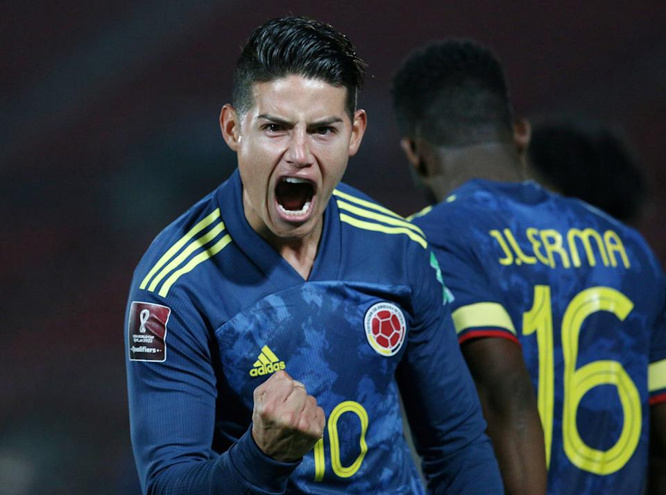James Rodriguez remains an idol back home in Colombia despite his strugglesReuters