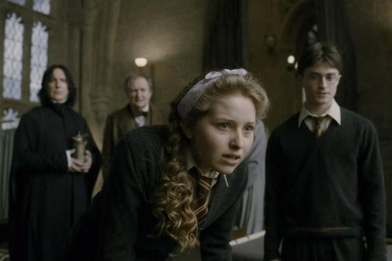 Mr Haddon-Cave's sister Jessie, below, played Lavender Brown in Harry Potter