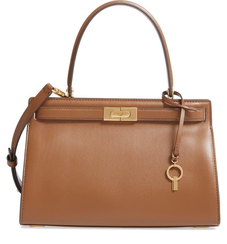 <p>As soon as we saw this <span>Tory Burch Small Lee Radziwill Leather Bag</span> ($698), we knew we had to have it. It's perfectly compact, not too big or small, and the silhouette is timeless.</p>