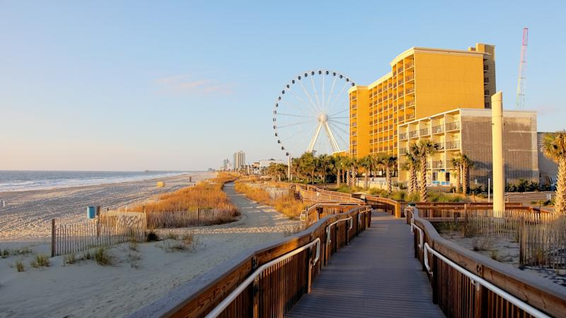 Myrtle Beach South Carolina oceanfront