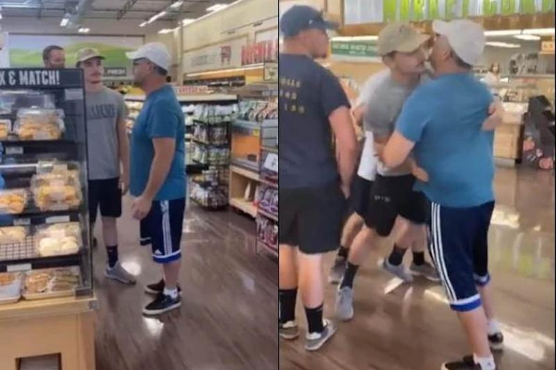 Covidiot Without a Facemask Yells 'Coronavirus Isn't Real' at Supermarket, Gets Thrown Out