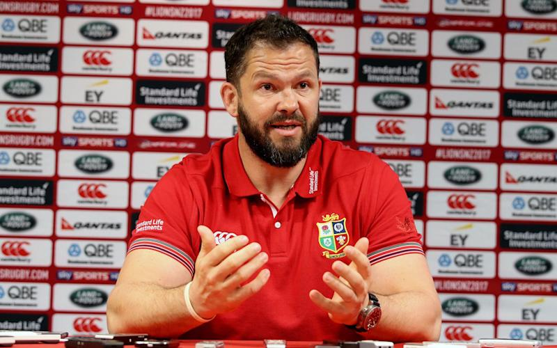 Andy Farrell has tasted success against the All Blacks - Rex Features