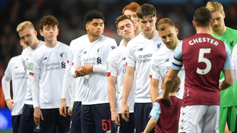 Liverpool boss Critchley: Youthful Reds were 'magnificent' despite 5-0 loss to Aston Villa