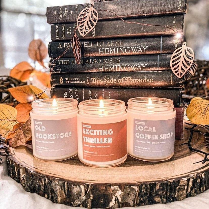Geeky Candles Soy Scented Candles. (Image via Geeky Candles)