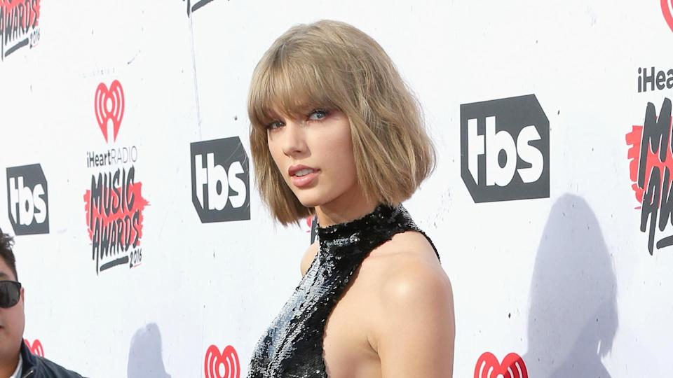 INGLEWOOD, CALIFORNIA - APRIL 03:  Singer Taylor Swift attends the iHeartRadio Music Awards at The Forum on April 3, 2016 in Inglewood, California.