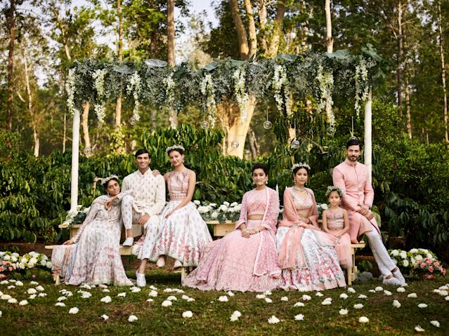 Designs for the whole family by Anita Dongre. (Photo: Courtesy of Anita Dongre)