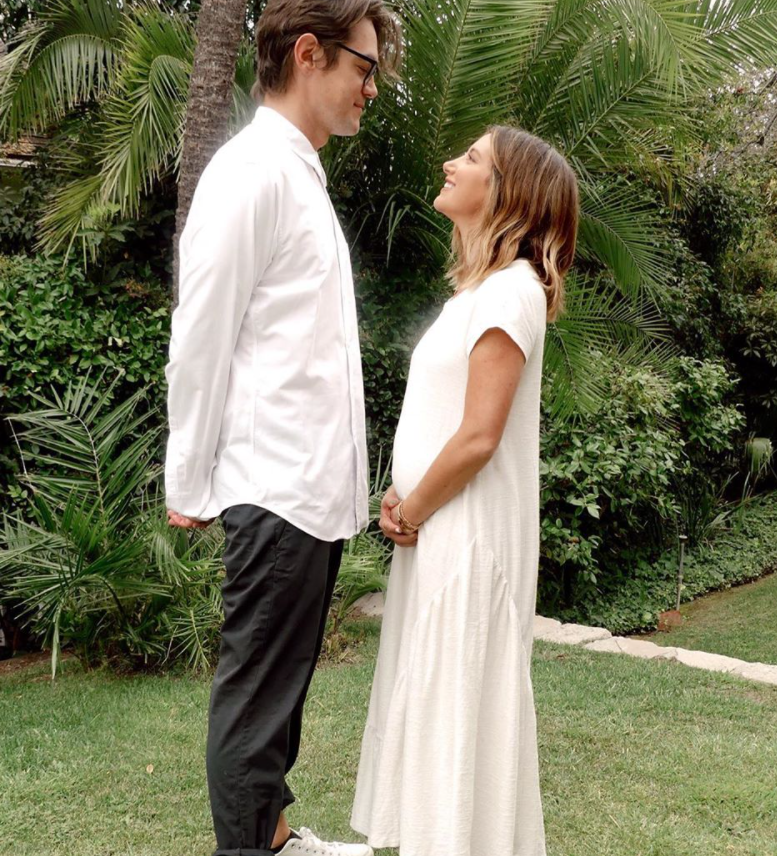Ashley Tisdale and husband Christopher French