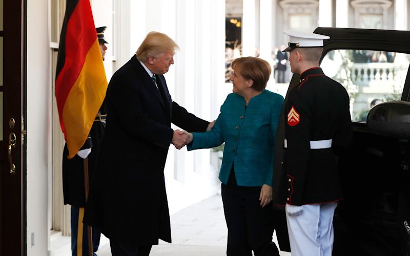 In what is expected to be a tense summit, Mr Trump will also discuss the transatlantic partnership and the migration crisis.