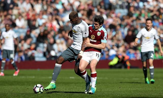 "<span class=""element-image__caption"">Premier League games such as Manchester United's match at Burnley are often watched illegally as piracy becomes the norm.</span> <span class=""element-image__credit"">Photograph: Martin Rickett/PA</span>"