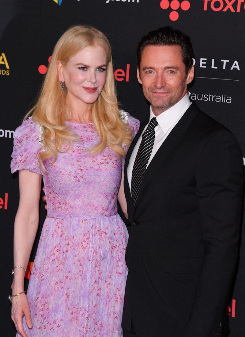 Nicole Kidman and Hugh Jackman, here at the 7th Annual AACTA Awards, have made Time's annual list of 100 most influential people. Source: Getty