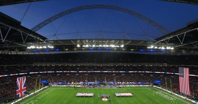 NFL matches at Wembley have generated significant revenue for the FA in the past (Simon Cooper/PA)