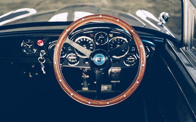 The interior of the miniature DB5 - Little Car Company/Cover-Images.com