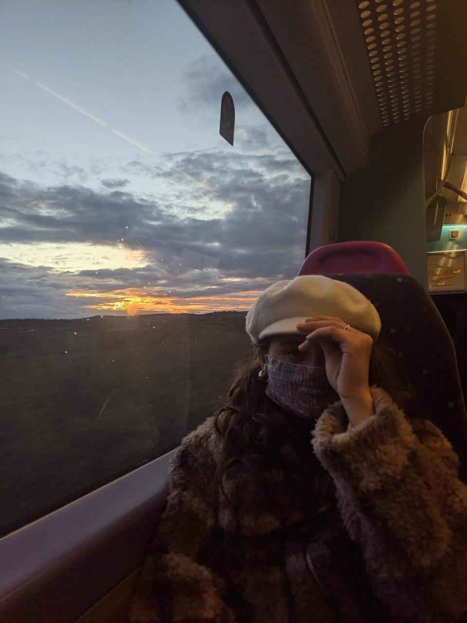<p>Olivia Mesce, a non-driver, said she was left with no choice but to take train back to Manchester</p>Supplied
