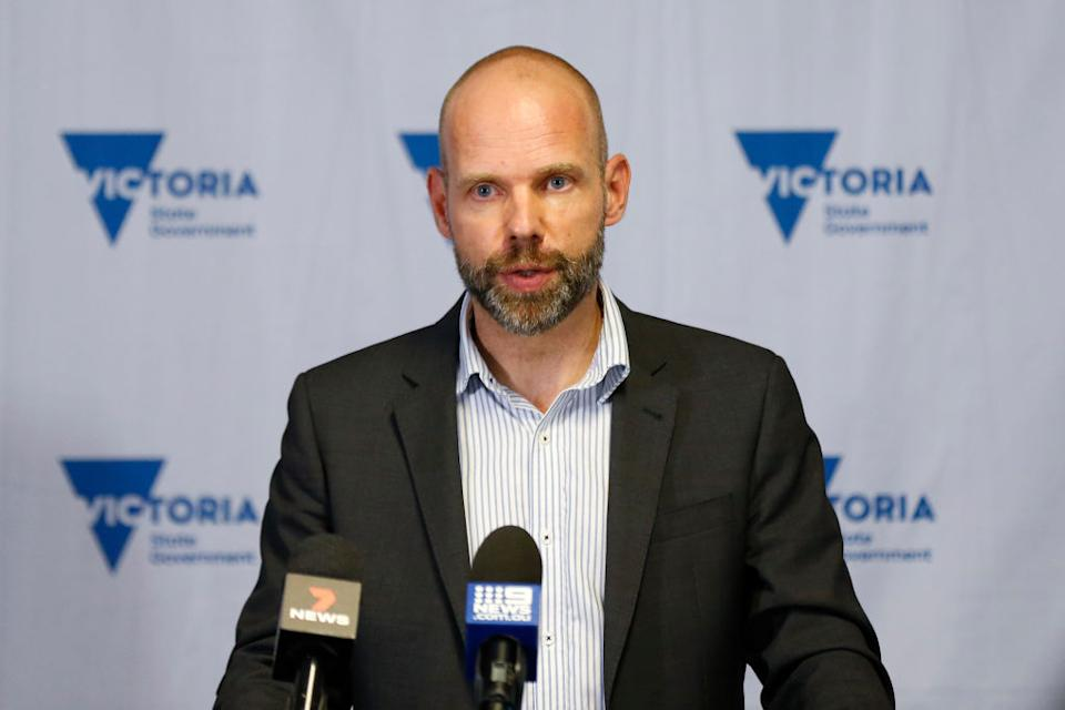 Victorian Commander of Testing Jeroen Weimar said authorities were still trying to