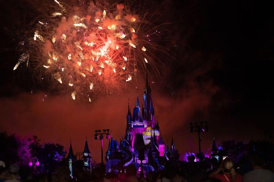 """<p><strong>Orlando, Florida</strong><br><br>Spend your Fourth of July at <a href=""""https://www.themeparkhipster.com/orlando-4th-of-july-fireworks-events-parade"""" rel=""""nofollow noopener"""" target=""""_blank"""" data-ylk=""""slk:Walt Disney's Magic Kingdom"""" class=""""link rapid-noclick-resp"""">Walt Disney's Magic Kingdom</a> watching fireworks illuminate the Cinderella Castle. This famous place is one of the most attended attractions in the world.</p>"""