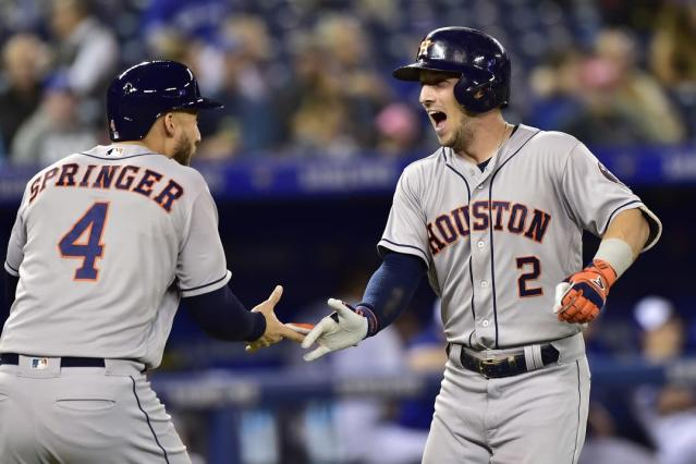 The Astros make it back-to-back AL West titles. Now they want back-to-back World Series championships. (AP)