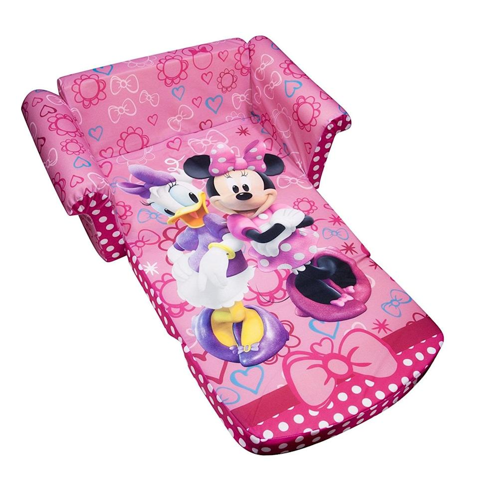 "<p>Your little one will love sitting on the <a href=""https://www.popsugar.com/buy/Disney-Minnie-Bow-tique-490902?p_name=Disney%20Minnie%27s%20Bow-tique&retailer=amazon.com&pid=490902&price=45&evar1=moms%3Aus&evar9=25800161&evar98=https%3A%2F%2Fwww.popsugar.com%2Fphoto-gallery%2F25800161%2Fimage%2F44870054%2FDisney-Minnies-Bow-tique&list1=gifts%2Camazon%2Choliday%2Ctoys%2Cgift%20guide%2Cparenting%2Cgifts%20for%20kids%2Ckid%20shopping%2Choliday%20for%20kids%2Cgifts%20for%20toddlers%2Cbest%20of%202019&prop13=api&pdata=1"" class=""link rapid-noclick-resp"" rel=""nofollow noopener"" target=""_blank"" data-ylk=""slk:Disney Minnie's Bow-tique"">Disney Minnie's Bow-tique</a> ($45). </p>"