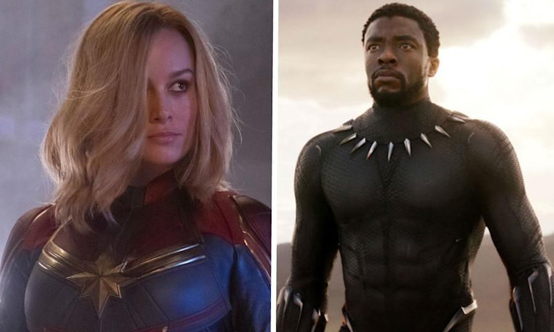 Black Panther and Captain Marvel faced roadblocks at Marvel Entertainment (Credit: Disney)