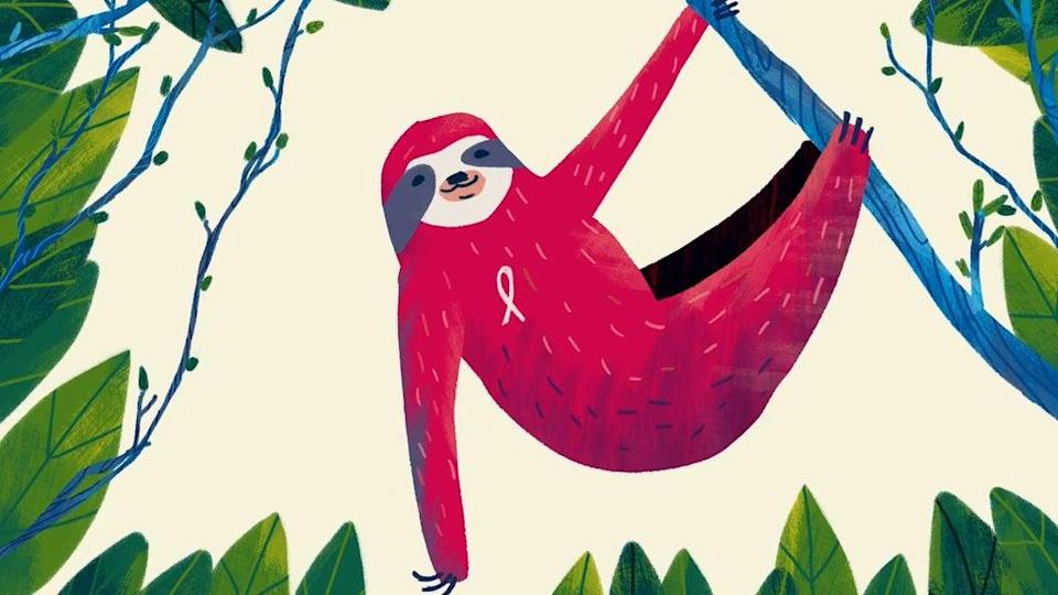 A sloth, whose fungi could provide a cancer treatment, from the film (OOF Animation/Royal Society/PA)