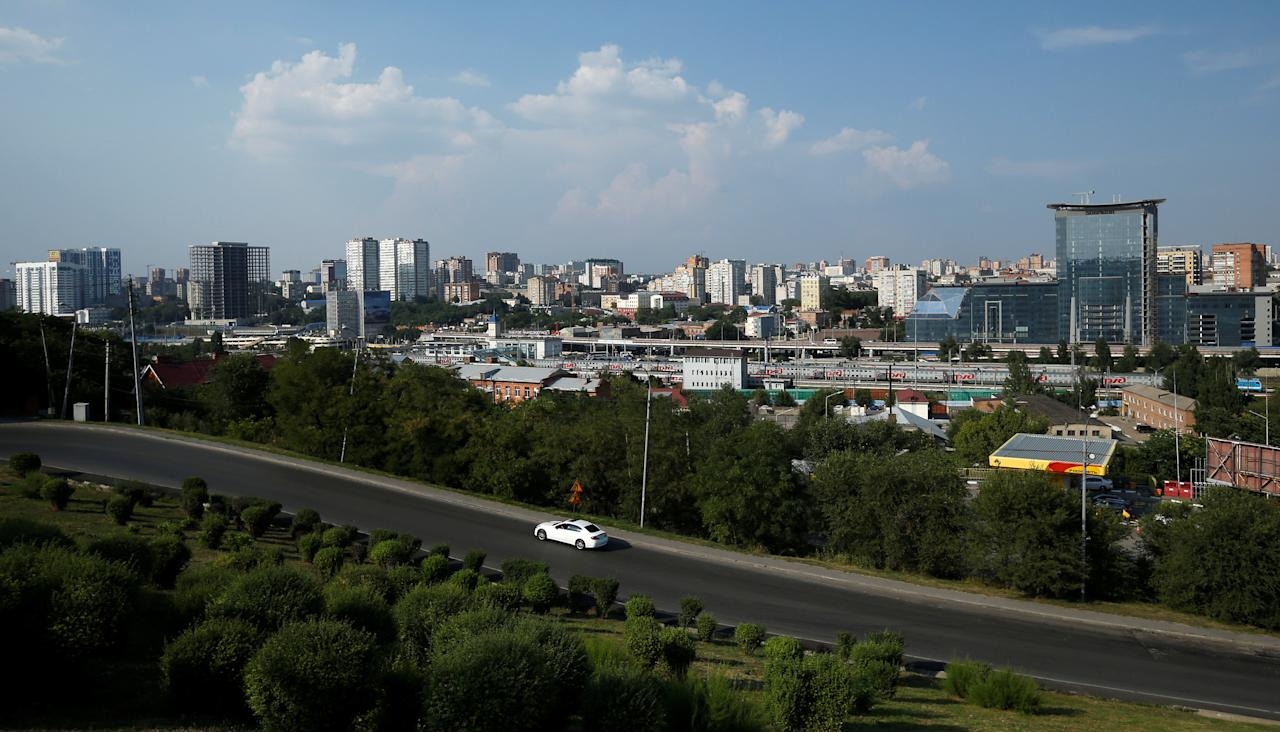 A general view shows the city of Rostov-on-Don, Russia, July 25, 2017. REUTERS/David Mdzinarishvili