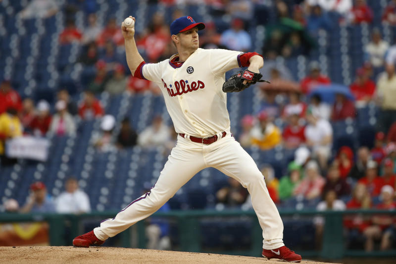 Brignac, Mayberry lead Phillies over Padres