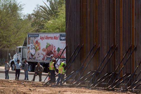 San Diego Border Wall Will Include 'Anti-Climbing Plate,' Construction Begins