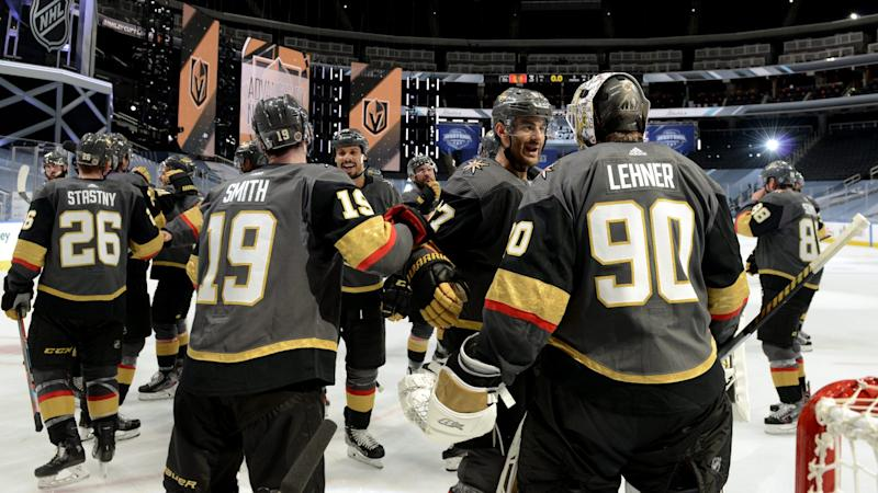 Golden Knights wonder what time off will look like after advancing
