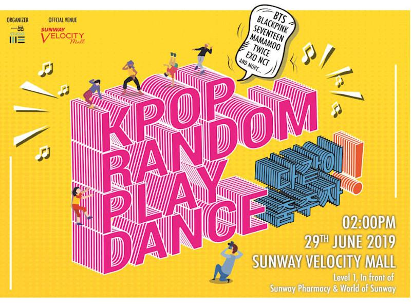 Don't miss out on the first ever K-pop Random Play Dance in Malaysia!