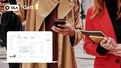Gett and Ola announce strategic partnership as businesses return to work