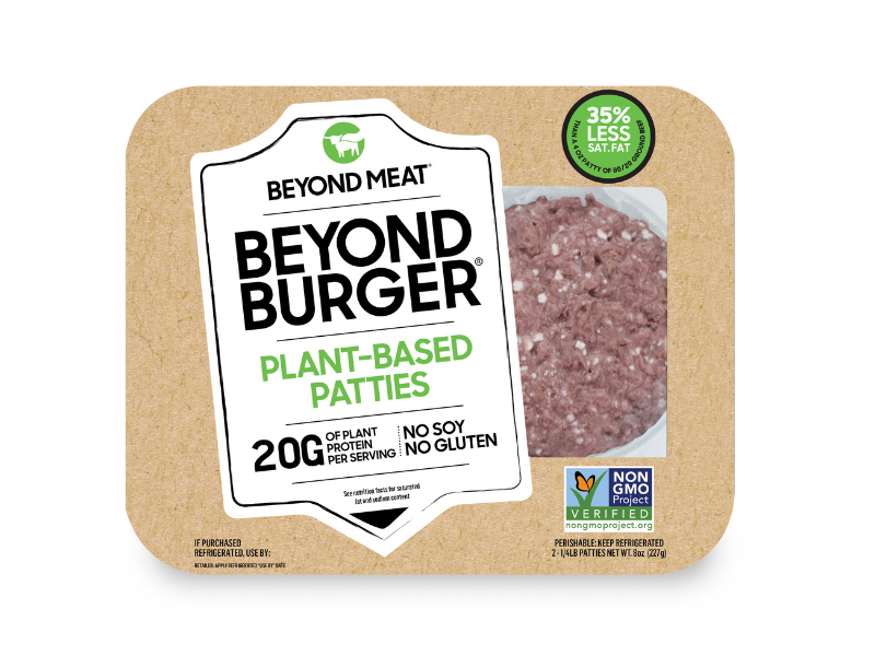 Beyond Meat Beyond Burger Patties, half-pound. (Photo: Walmart)