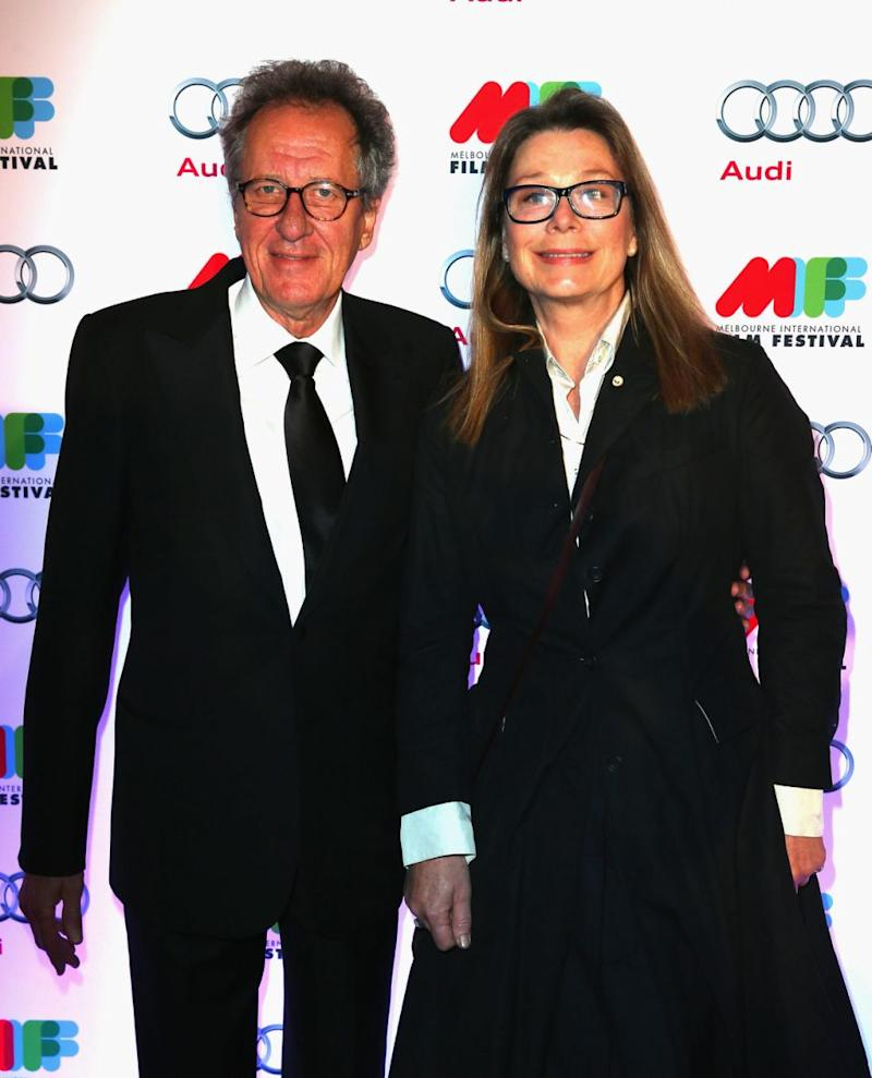The actor is seen here with his wife in 2013. The pair have been married since 1988. Source: Getty