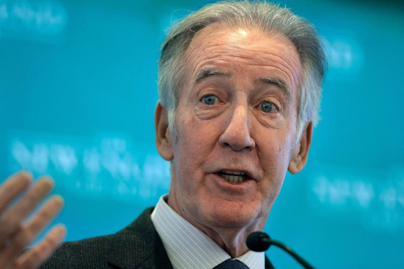 """Rep. Richard Neal, the incoming chairman of the House Ways and Means Committee, has indicated he wants to """"lay out a case"""" first. (Photo: AP Photo/Steven Senne)"""