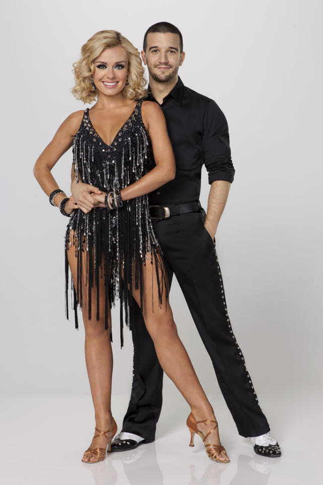 """Katherine Jenkins teams with professional dancer Mark Ballas on Season 14 of """"<a href=""""http://tv.yahoo.com/dancing-with-the-stars/show/38356"""">Dancing With the Stars</a>."""""""