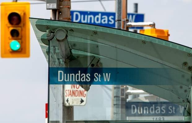 A petition was started in 2020 to rename Dundas Street. Now, a report is being considered by Mayor John Tory's executive committee to push the change forward.   (Giordano Ciampini/The Canadian Press - image credit)