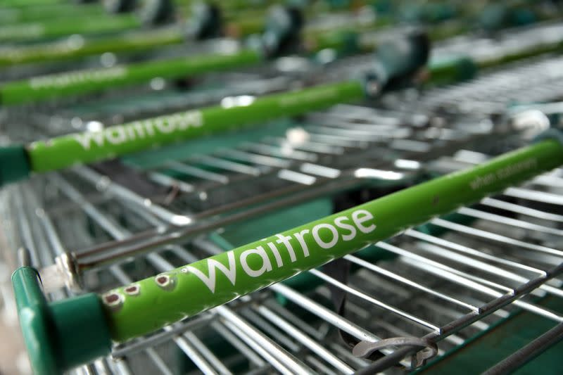 UK supermarket Waitrose partners Deliveroo for 30-minute delivery