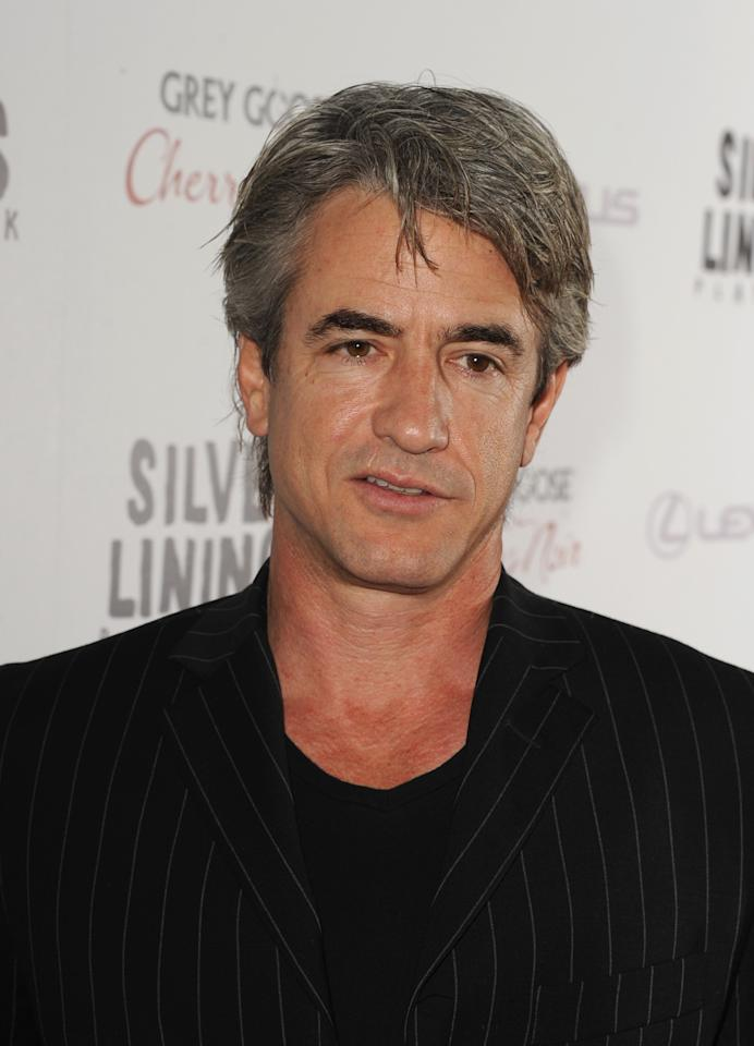 """BEVERLY HILLS, CA - NOVEMBER 19:  Actor Dermot Mulroney attends a screening of The Weinstein Company's """"Silver Linings Playbook"""" at the Academy of Motion Picture Arts and Sciences on November 19, 2012 in Beverly Hills, California.  (Photo by Kevin Winter/Getty Images)"""