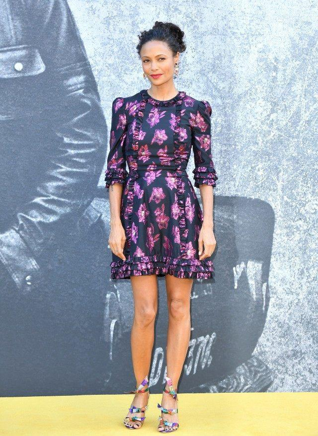Thandie Newton at yardie premiere