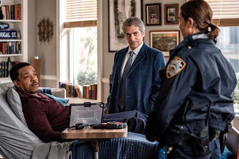 """Russel Hornsby, Michael Imperioli and Arielle Kebbel star in the new NBC series """"LIncoln Rhyme: Hunt for the Bone Collector."""""""