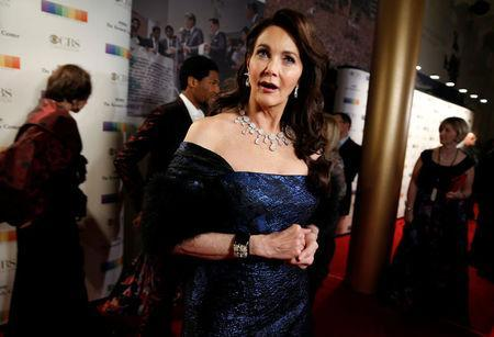Actor Lynda Carter arrives for the Kennedy Center Honors in Washington, U.S., December 3, 2017. REUTERS/Joshua Roberts