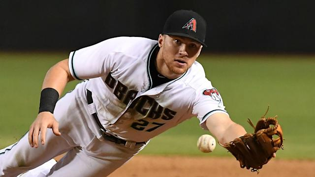 A three-team MLB trade saw the New York Yankees acquire infielder Brandon Drury.