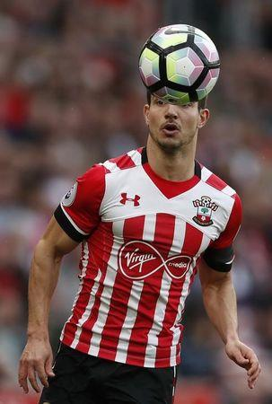 Southampton's Cedric Soares in action