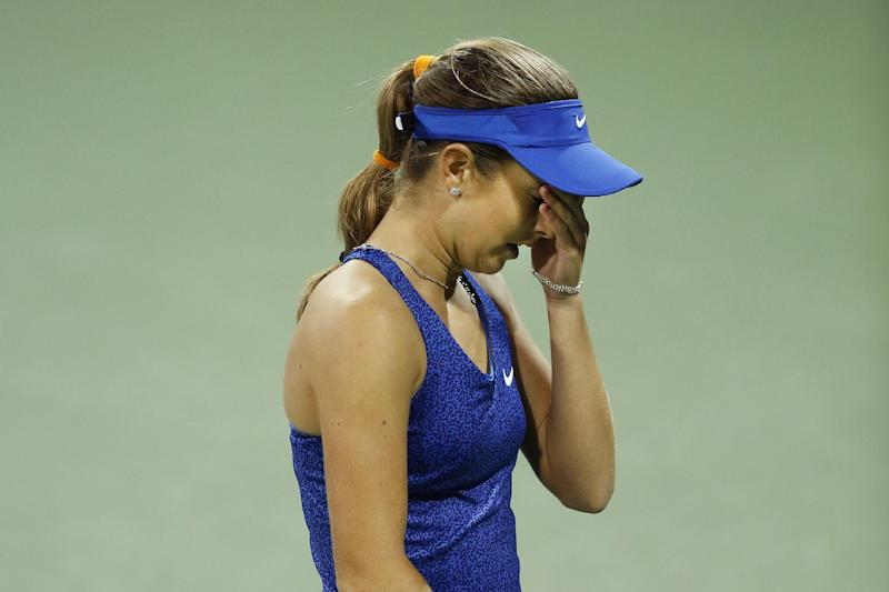 15-year-old Bellis' unexpected US Open run ends