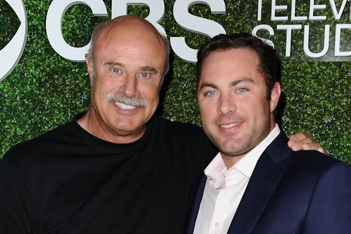 WEST HOLLYWOOD, CA - JUNE 02: Dr. Phil McGraw and son Jay McGraw attend the 4th annual CBS Television Studios Summer Soiree at Palihouse on June 2, 2016 in West Hollywood, California. (Photo by Jason LaVeris/FilmMagic)