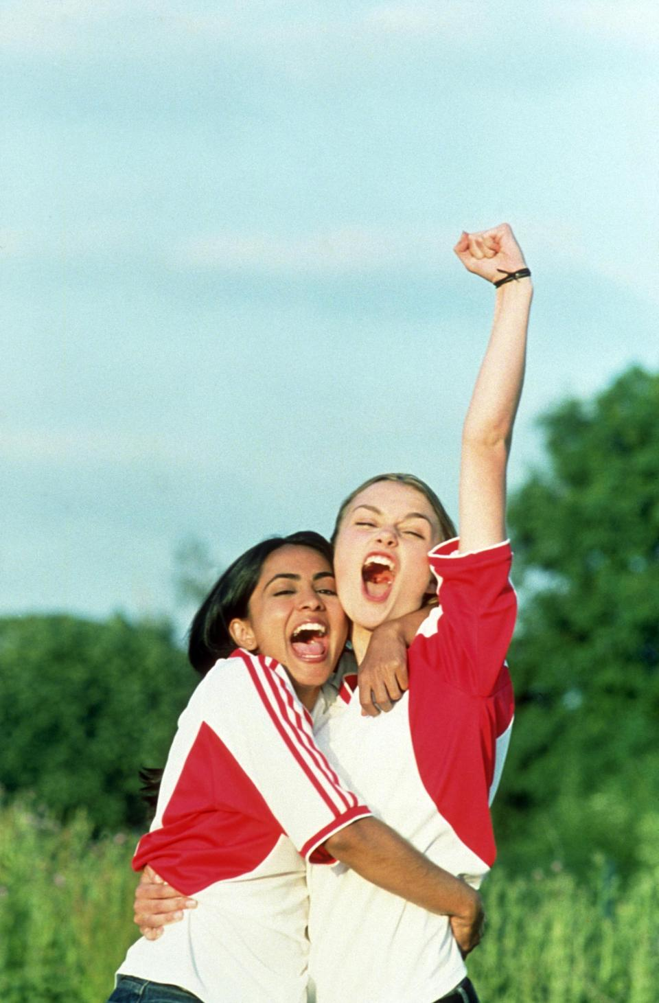 <p><em><strong>Bend It Like Beckham</strong></em> (2002)</p><p>Eighteen-year-old Jess Bhamra's (Parminder Nagra) parents have planned out her whole life. She's going to get married to a man they have chosen, and she's going to adhere to their strict values. But Jess wants to play soccer — and there's no room for soccer in their plan. Without her family's knowledge, Jess joins the local women's soccer league, and discovers she has a natural knack for the game. She becomes friends with Jules Paxton (Keira Knightley), falls for the coach (Jonathan Rhys Meyers), and challenges her family to accept her.</p><p><strong>Why You Should Watch It:</strong> <em>Bend It Like Beckham</em> is a joyous little indie, bursting at the seams with warmth and humour.</p>