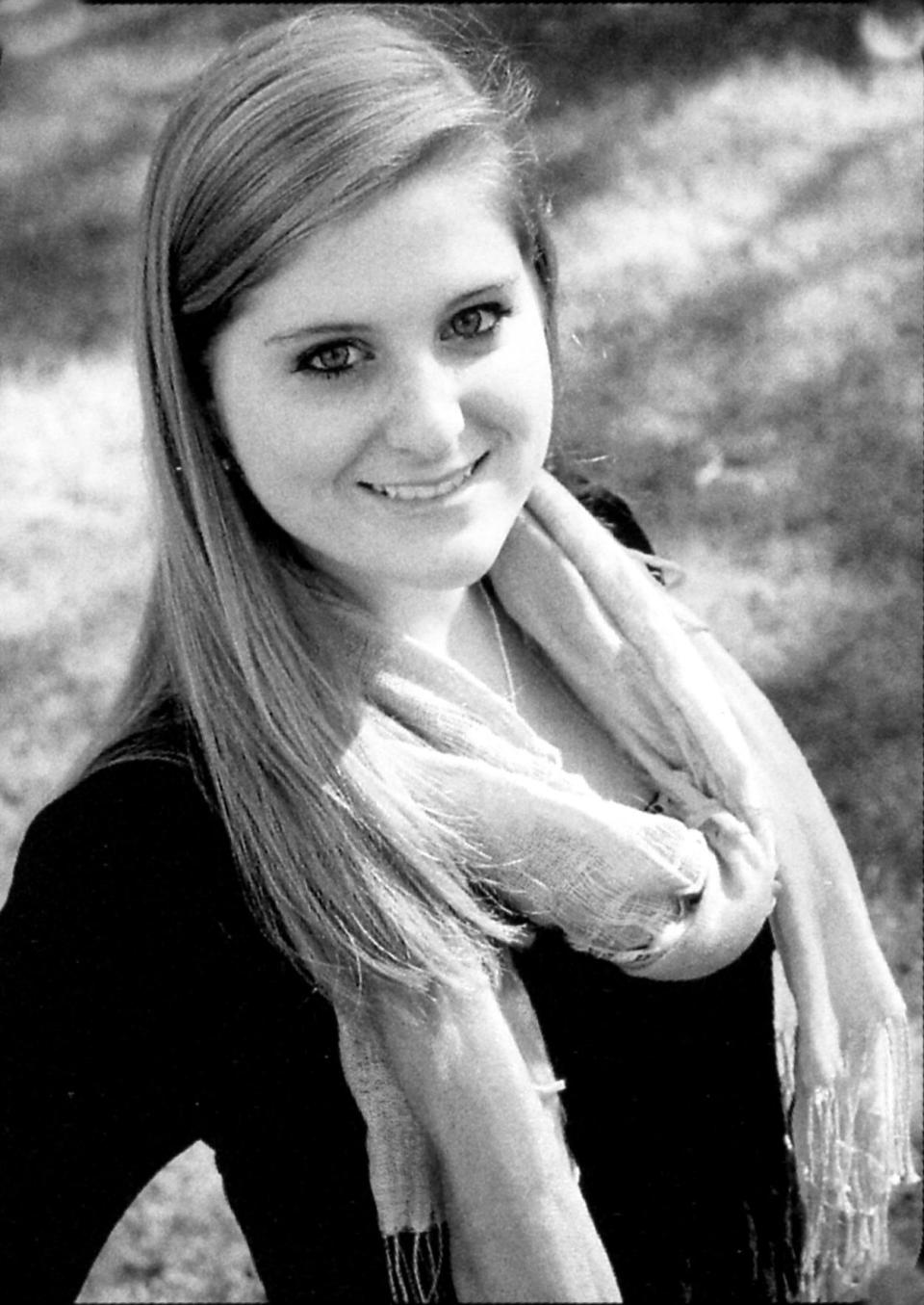 <p>Pop musician Meghan Trainor always had long blonde hair, even in high school.<i> (Photo: Seth Poppel/Yearbook Library)</i></p>
