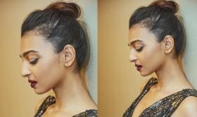 Radhika Apte is absolutely slaying it in  classy black shimmery dress