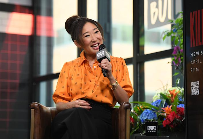 "During the casting of ""Killing Eve,"" Sandra Oh realized how much she'd internalized the racism of the entertainment industry. (Photo: Noam Galai via Getty Images)"