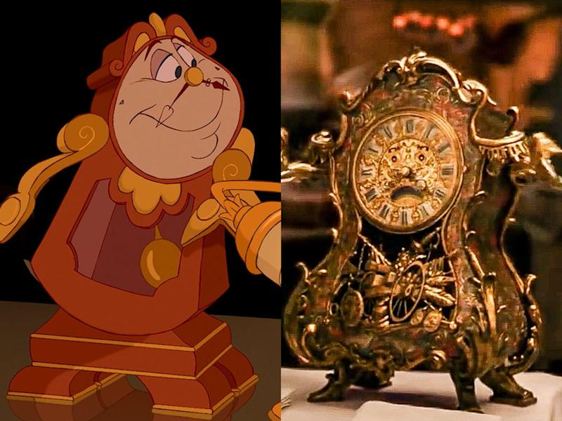 cogsworth beauty and the beast